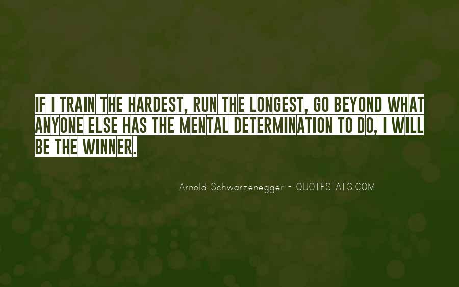 Self Determination And Success Quotes #153419