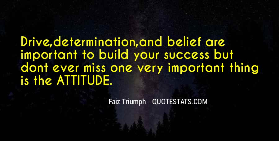 Self Determination And Success Quotes #901022