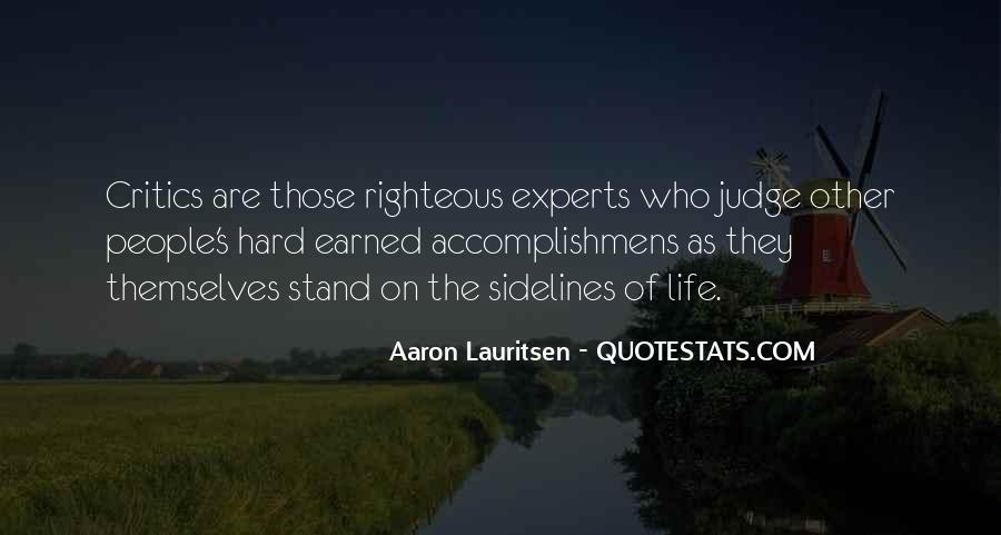 Self Earned Quotes #70464