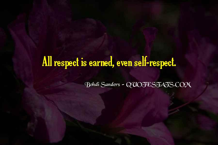 Self Earned Quotes #772505
