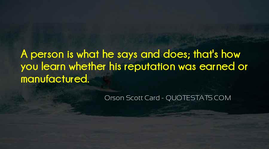 Self Earned Quotes #96527