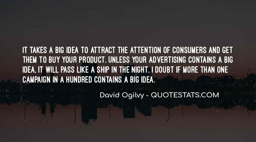 Quotes About Advertising Ogilvy #1215185