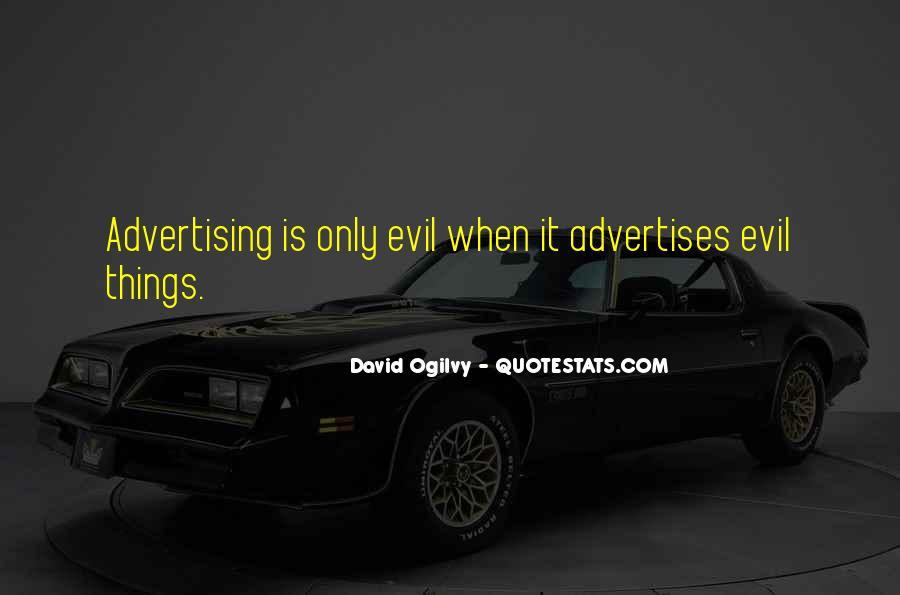 Quotes About Advertising Ogilvy #125818