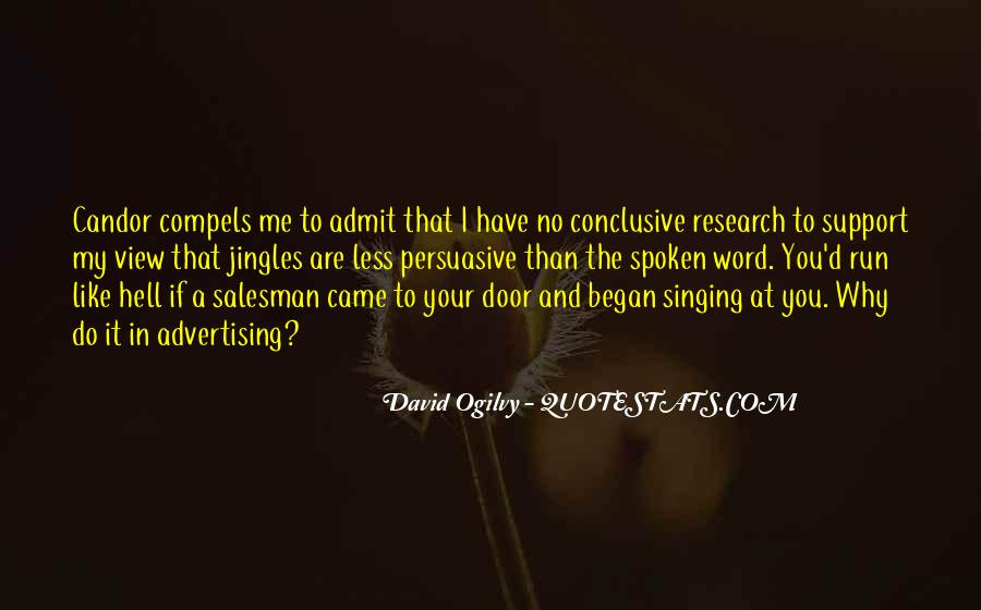 Quotes About Advertising Ogilvy #1270226