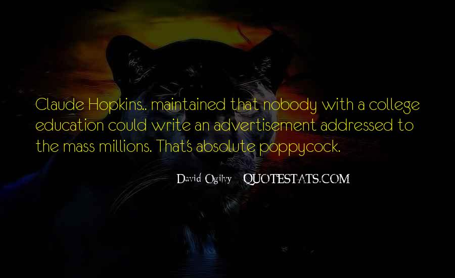 Quotes About Advertising Ogilvy #139970