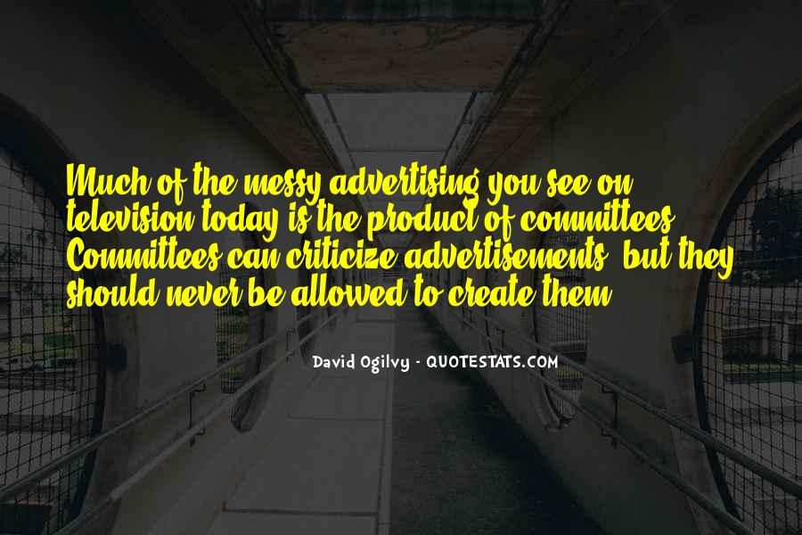 Quotes About Advertising Ogilvy #1414634