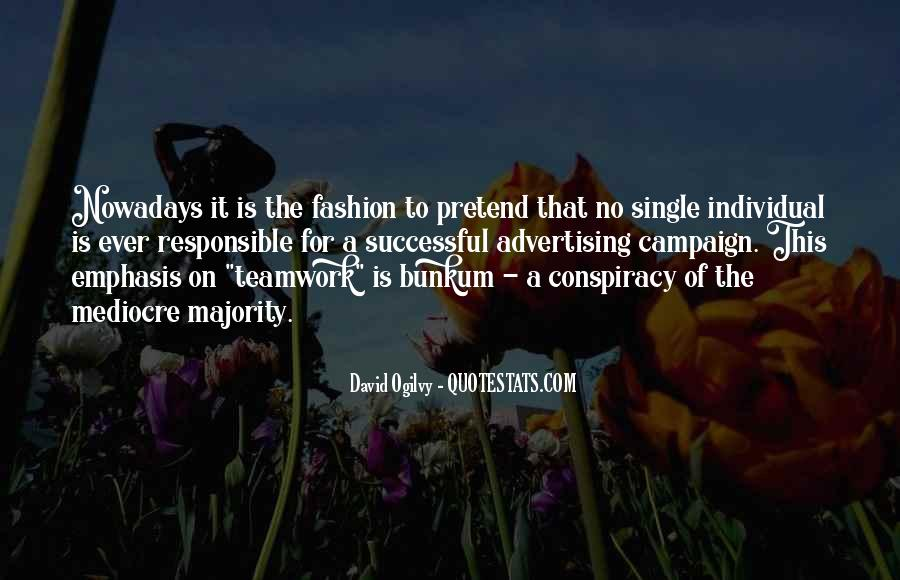 Quotes About Advertising Ogilvy #1414857