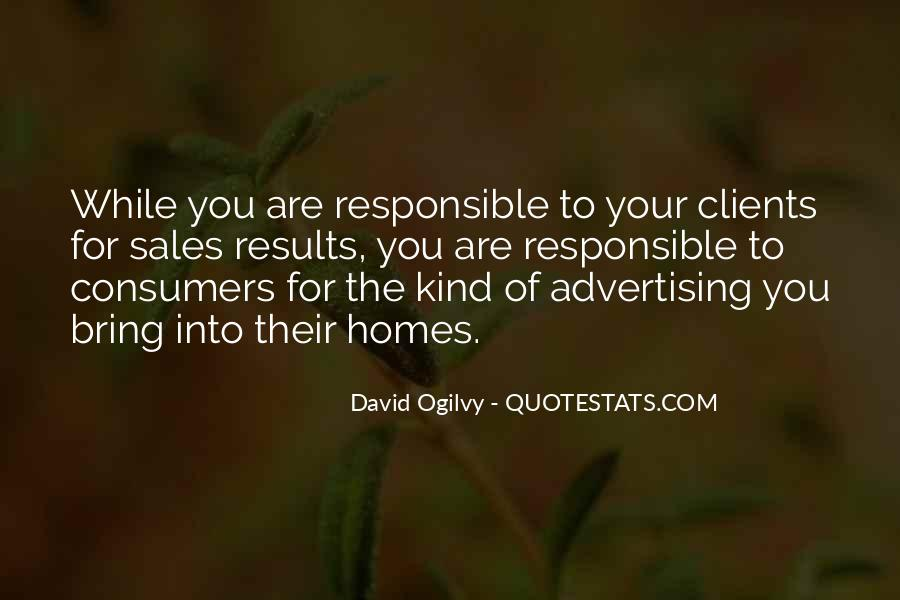 Quotes About Advertising Ogilvy #1501243