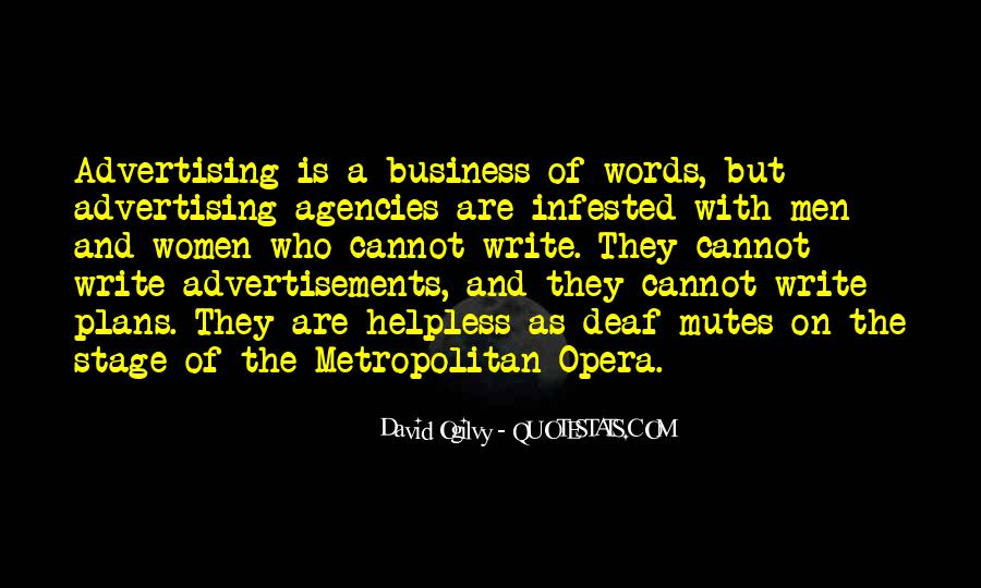 Quotes About Advertising Ogilvy #1684640