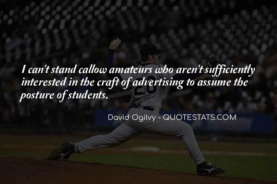 Quotes About Advertising Ogilvy #1871021
