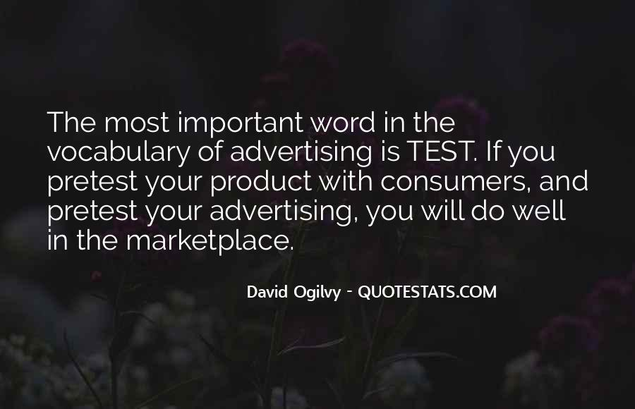 Quotes About Advertising Ogilvy #201277