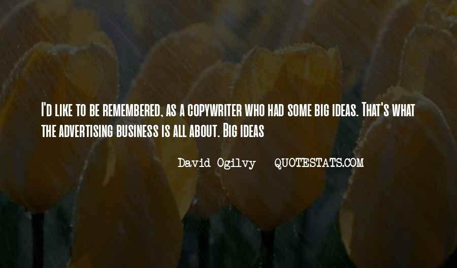 Quotes About Advertising Ogilvy #272455
