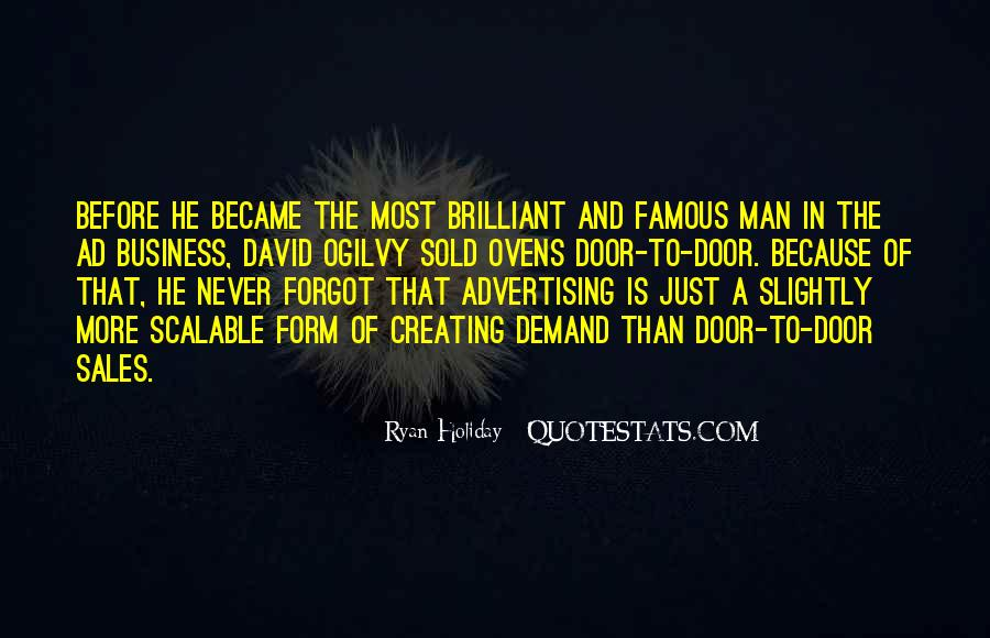 Quotes About Advertising Ogilvy #570664