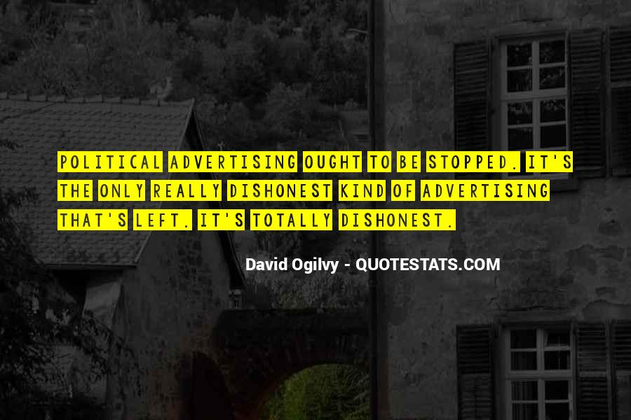 Quotes About Advertising Ogilvy #741158