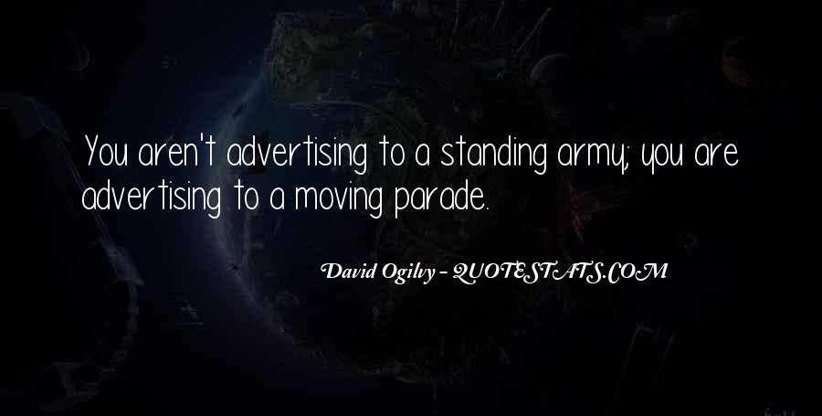 Quotes About Advertising Ogilvy #773453