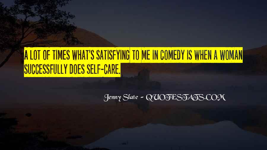 Self Satisfying Quotes #100330