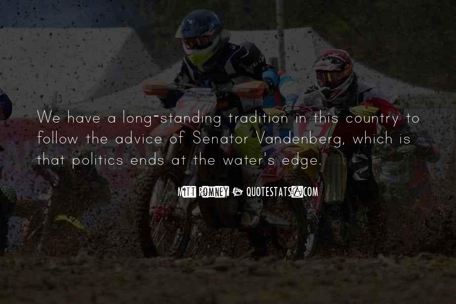 Senator Vandenberg Quotes #1474832