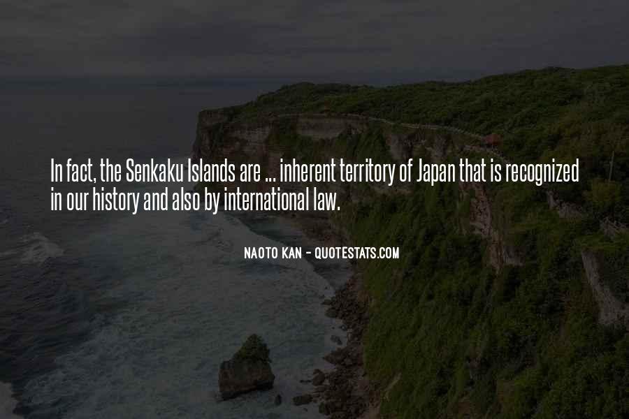 Senkaku Islands Quotes #1378636