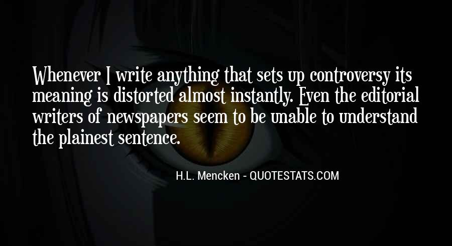 Sentence Quotes #85538