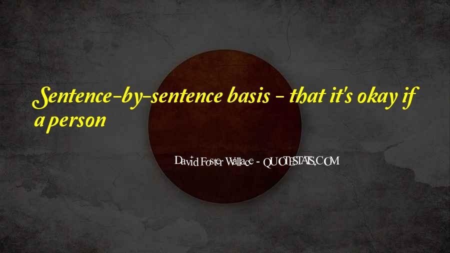 Sentence Quotes #87999