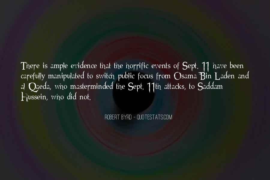 Sept. 9 11 Quotes #117909