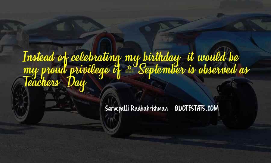 September 6 Birthday Quotes #591986