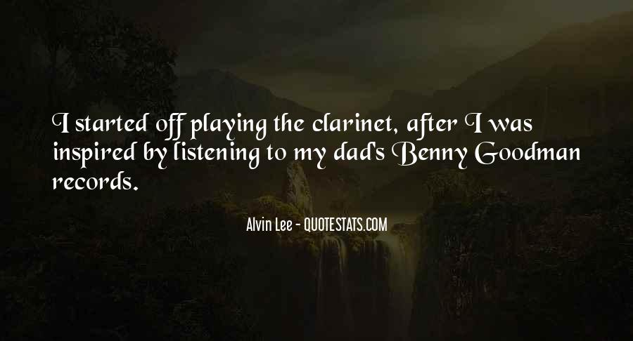Quotes About Benny Goodman #1283147