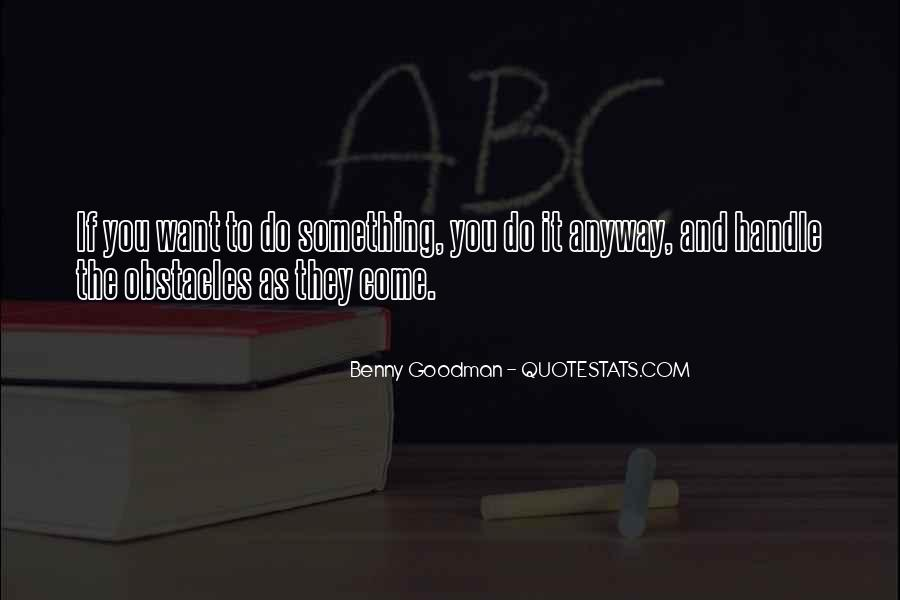 Quotes About Benny Goodman #977737