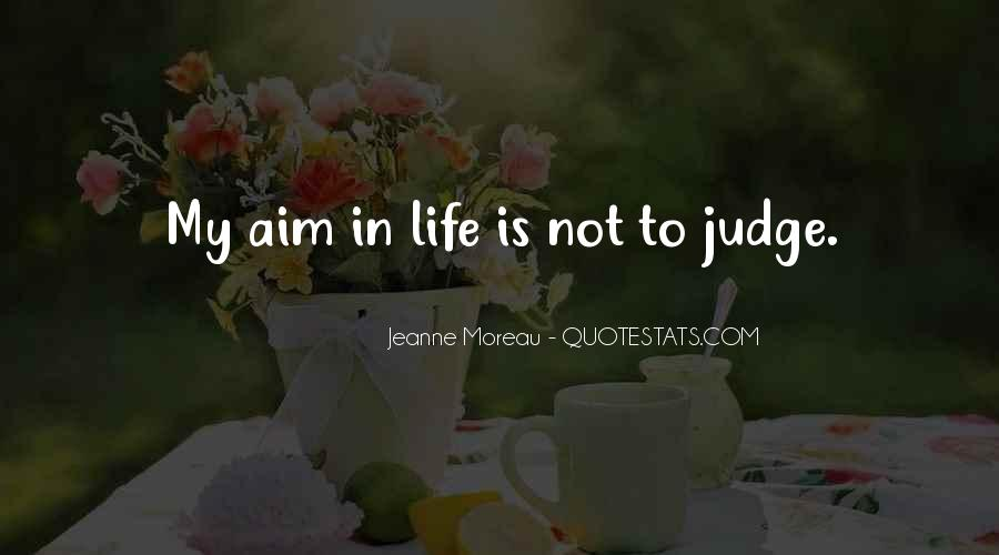Quotes About Aim In Life #1062844