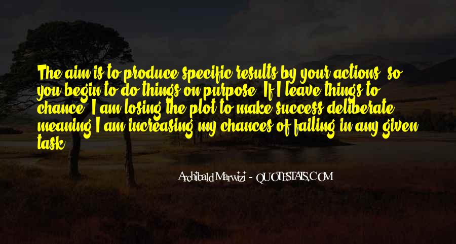 Quotes About Aim In Life #1156131