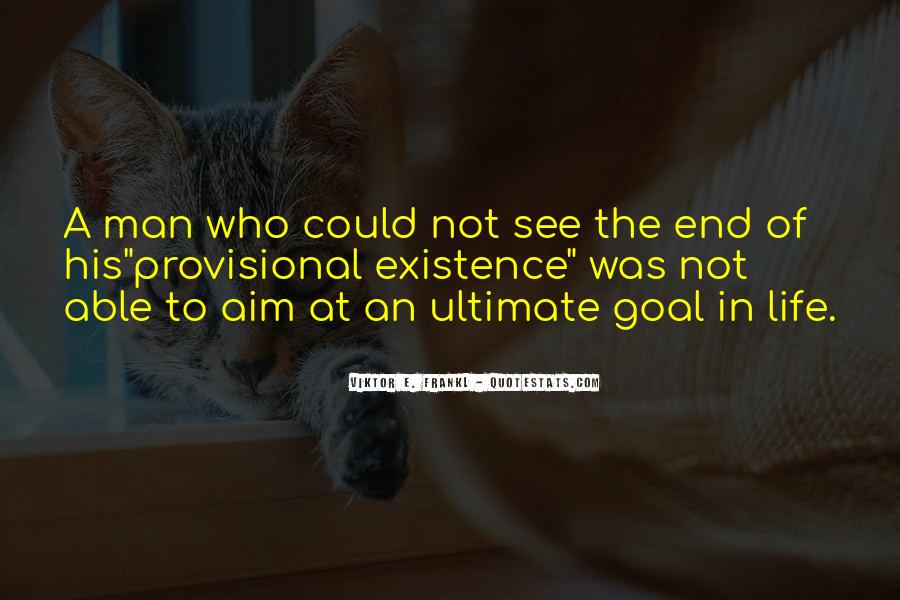 Quotes About Aim In Life #1289117