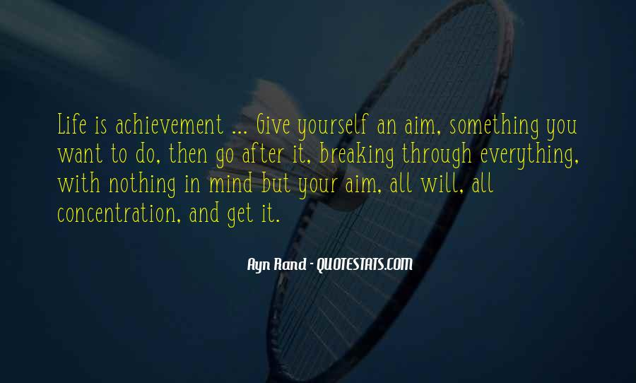 Quotes About Aim In Life #272583