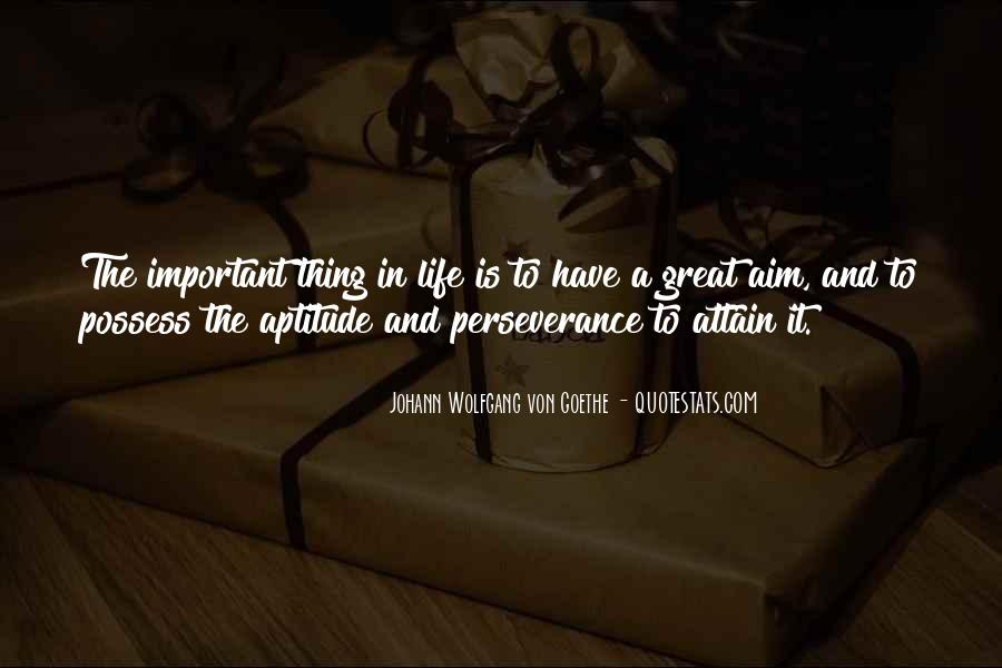 Quotes About Aim In Life #387410