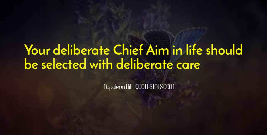 Quotes About Aim In Life #411371