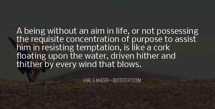 Quotes About Aim In Life #764882