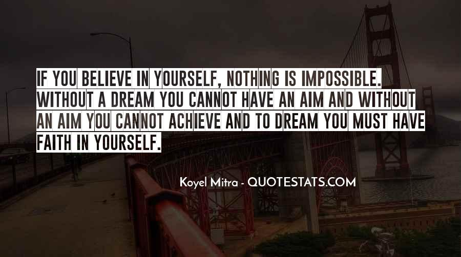 Quotes About Aim In Life #951010
