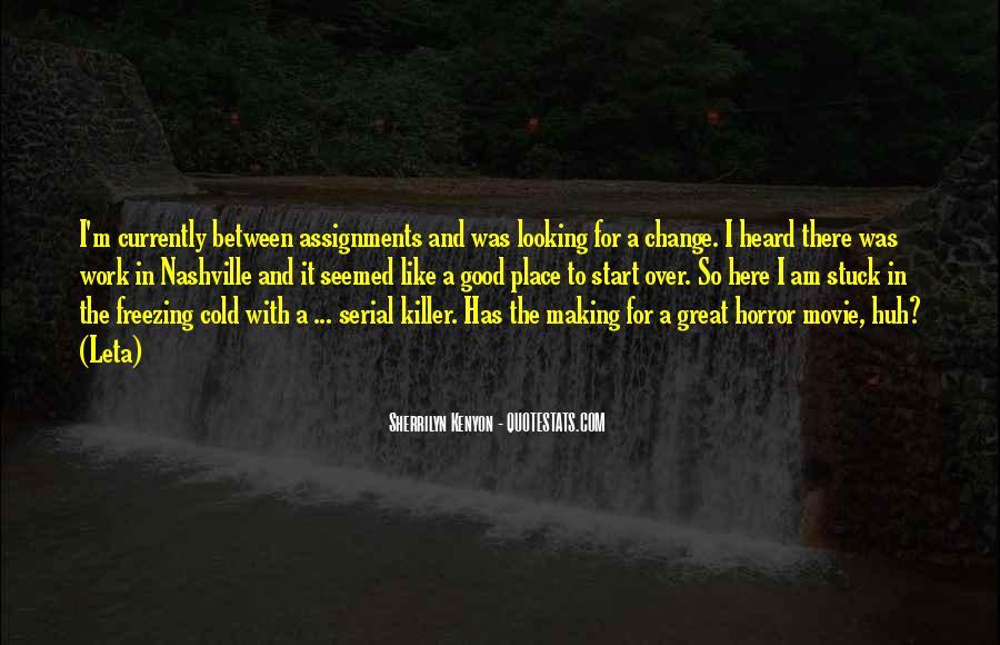 Serial Killer Movie Quotes #36066