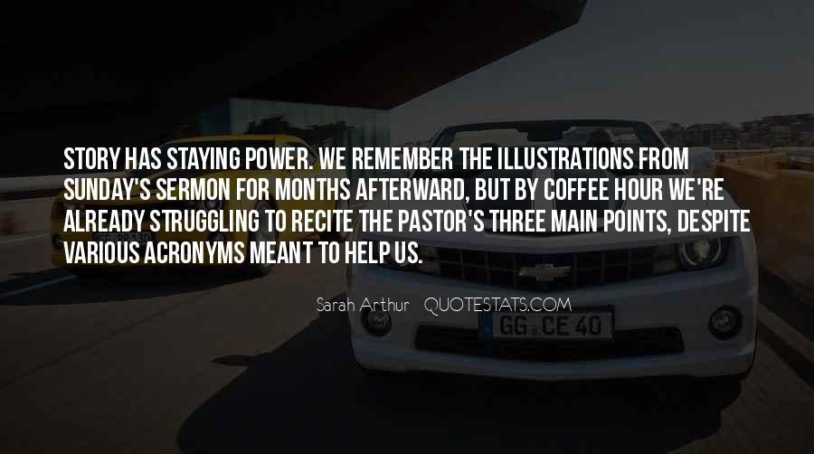 Sermon Illustrations Quotes #616338