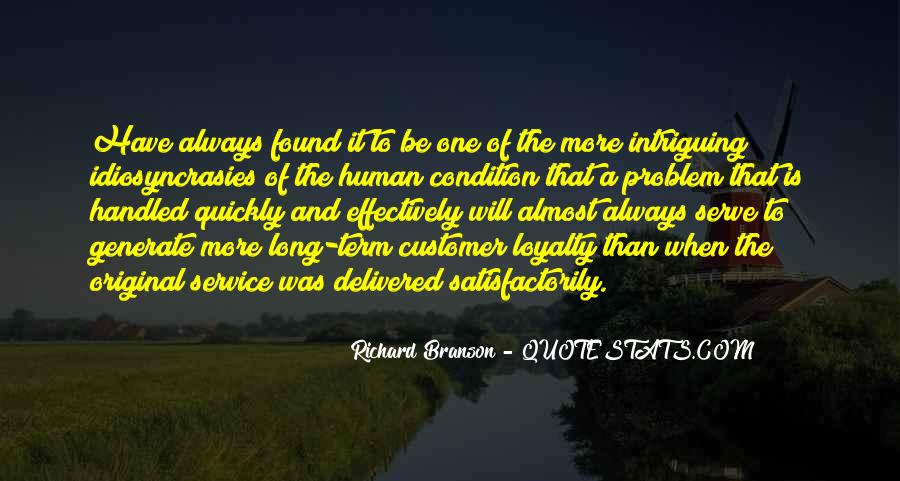 Service Loyalty Quotes #1544572