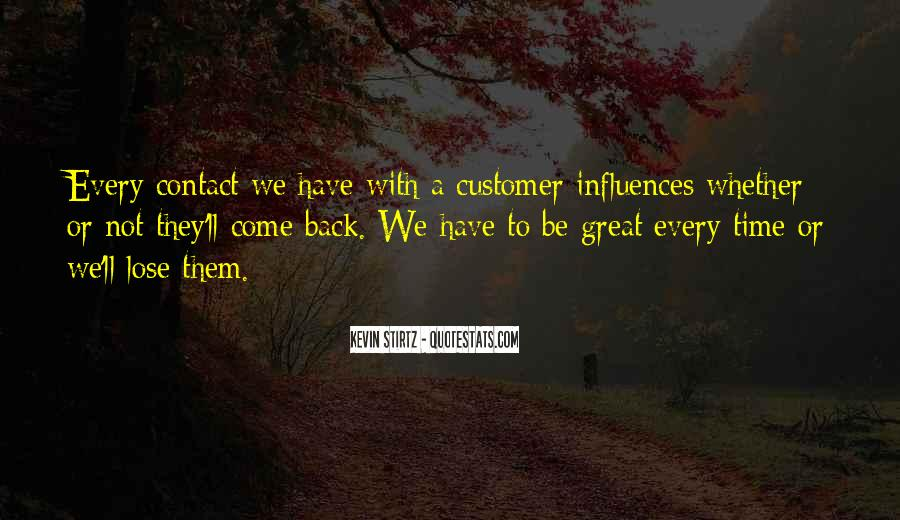Service Loyalty Quotes #1876534