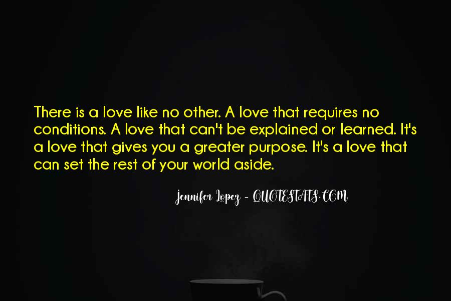 Set Aside Love Quotes #662904