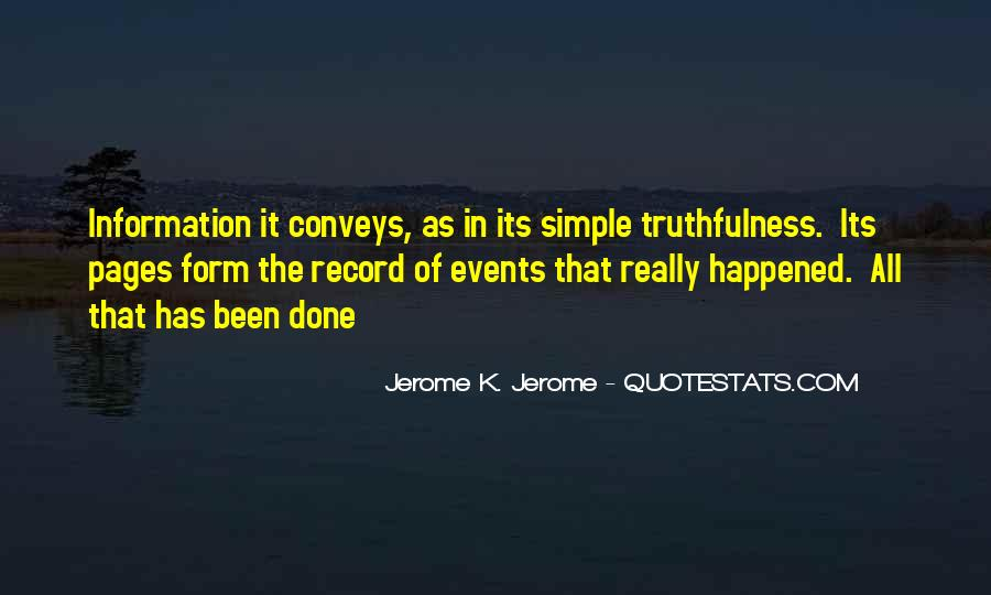 Quotes About Best Truthfulness #318211