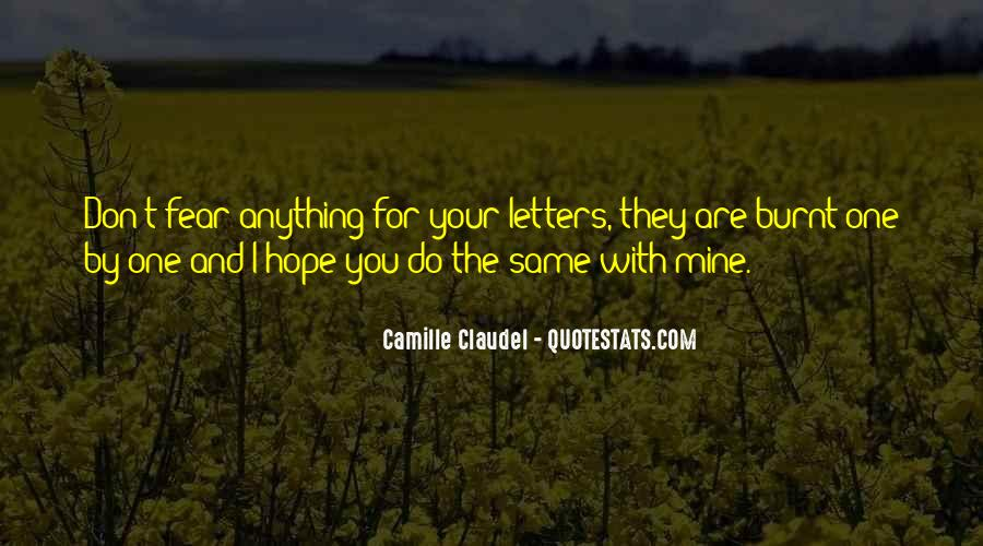 Quotes About Camille #249007