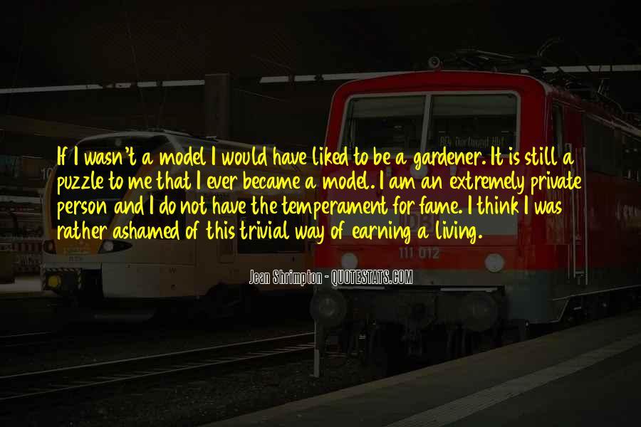Quotes About Jean Shrimpton #1789635