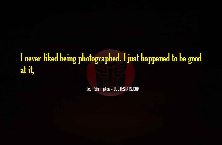 Quotes About Jean Shrimpton #401245
