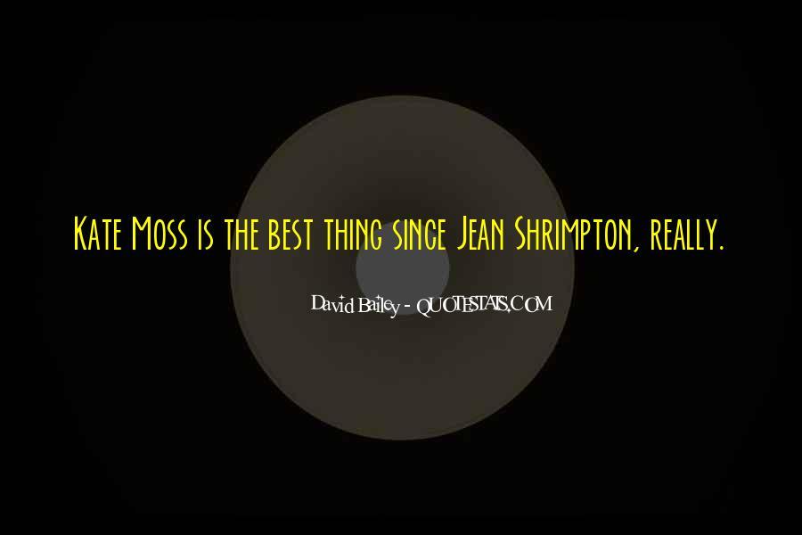 Quotes About Jean Shrimpton #401263