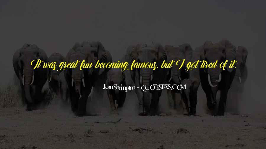 Quotes About Jean Shrimpton #570475