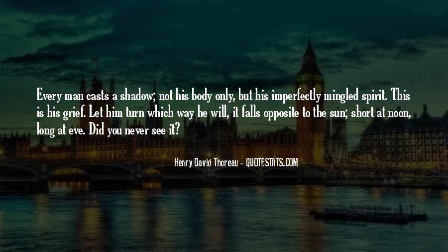 Shadow Sun Quotes #1090051