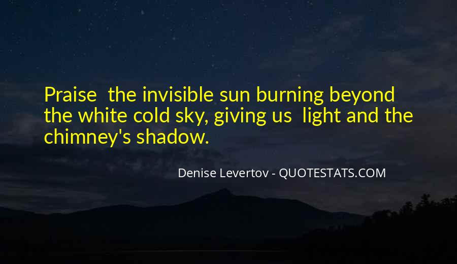 Shadow Sun Quotes #1101246