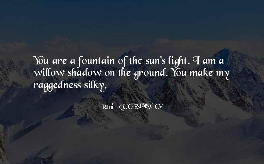 Shadow Sun Quotes #1363981